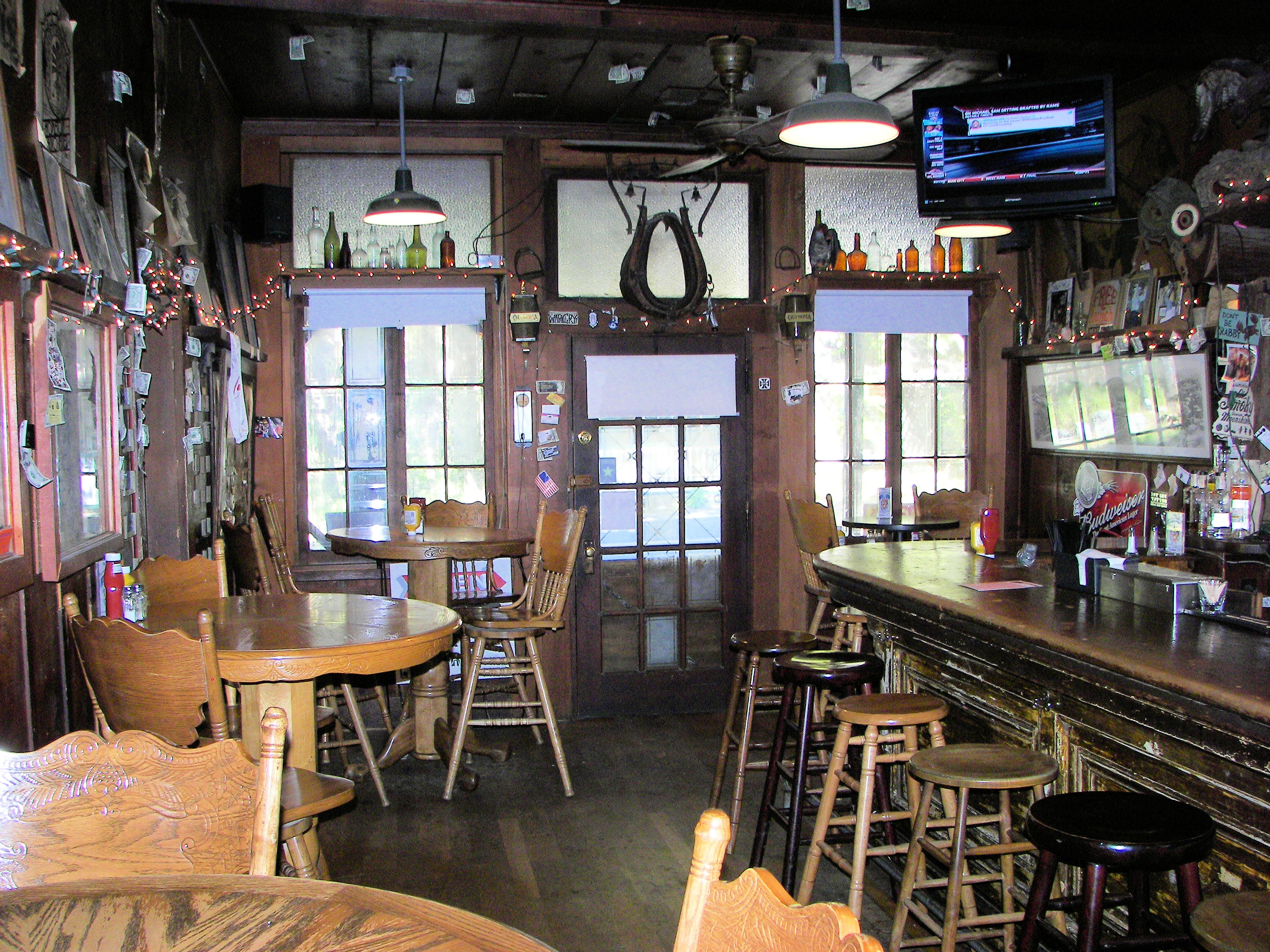 Inside The Whiskey Flat Saloon